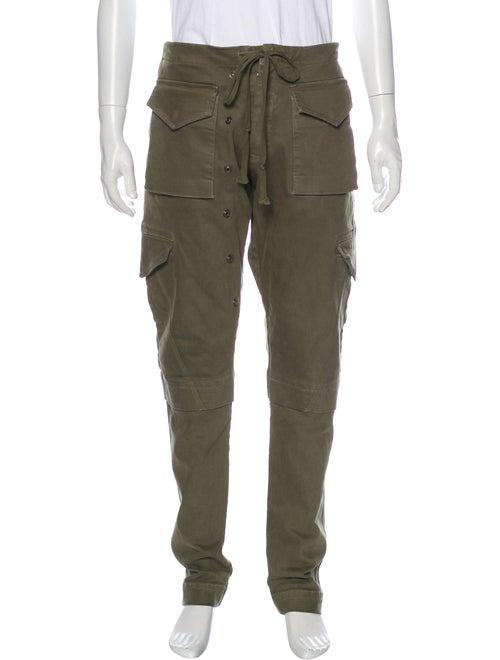 Greg Lauren Army Cargo Pants Green