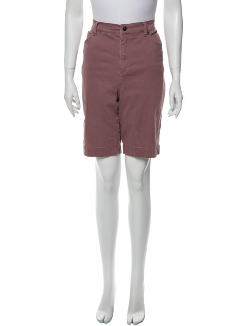Gloria Vanderbilt Knee-Length Shorts Purple