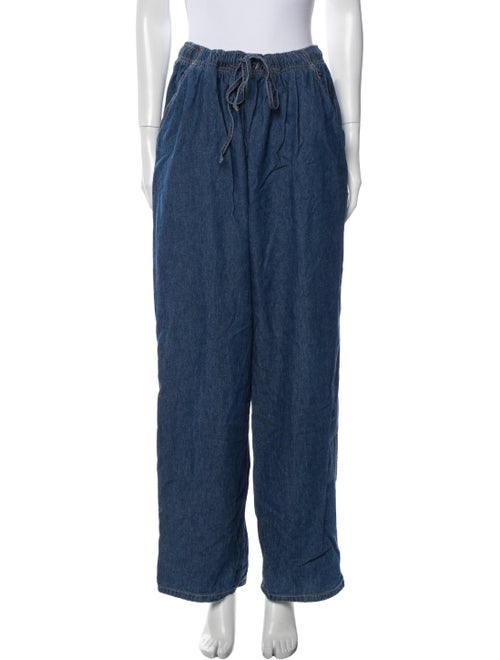 Gloria Vanderbilt High-Rise Wide Leg Jeans Blue