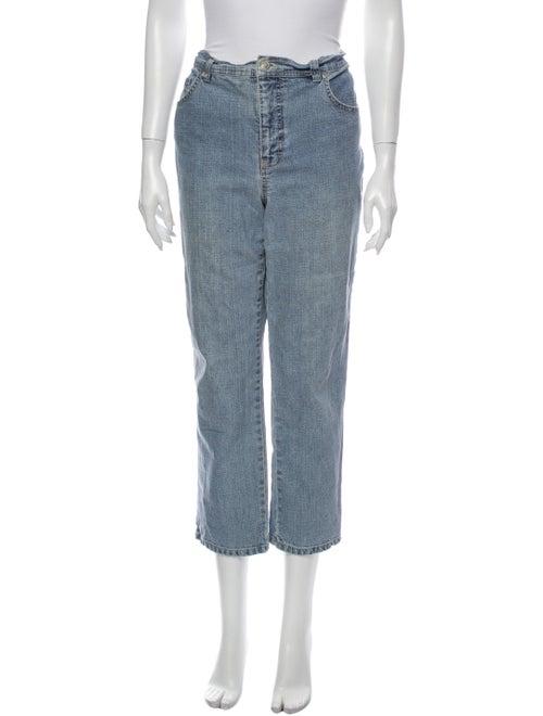 Gloria Vanderbilt High-Rise Straight Leg Jeans Blu
