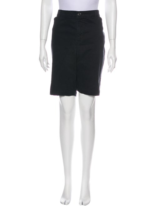 Gloria Vanderbilt Knee-Length Shorts Black