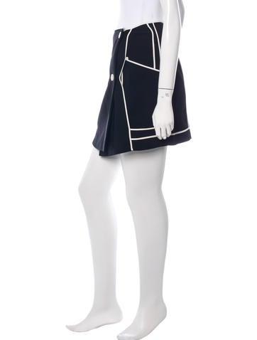 Wrap Mini Skirt
