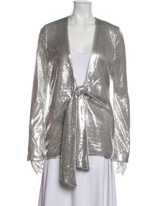 Galvan Evening Jacket Silver