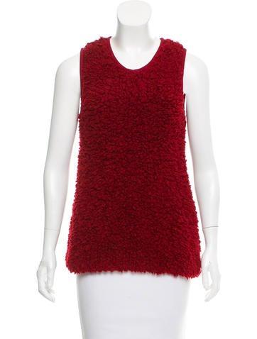 Giamba Textured Wool Top None