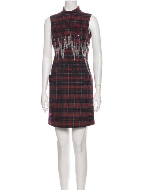 Giamba Wool Mini Dress Wool
