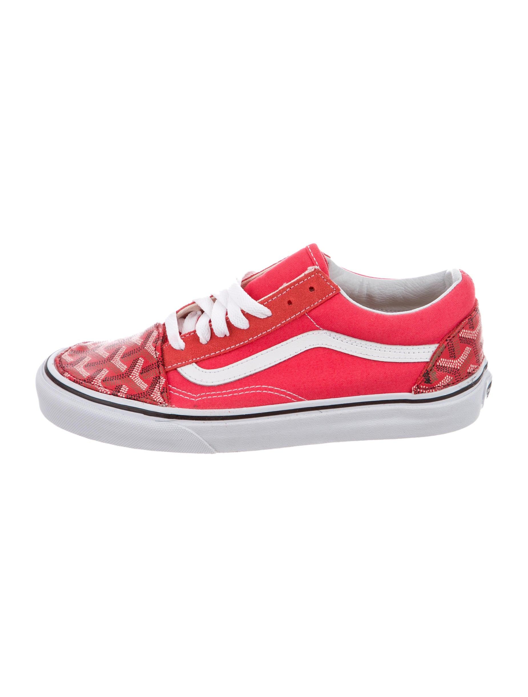 Goyard x Vans Round-Toe Sneakers w  Tags - Shoes - GOY20527  76553af6f