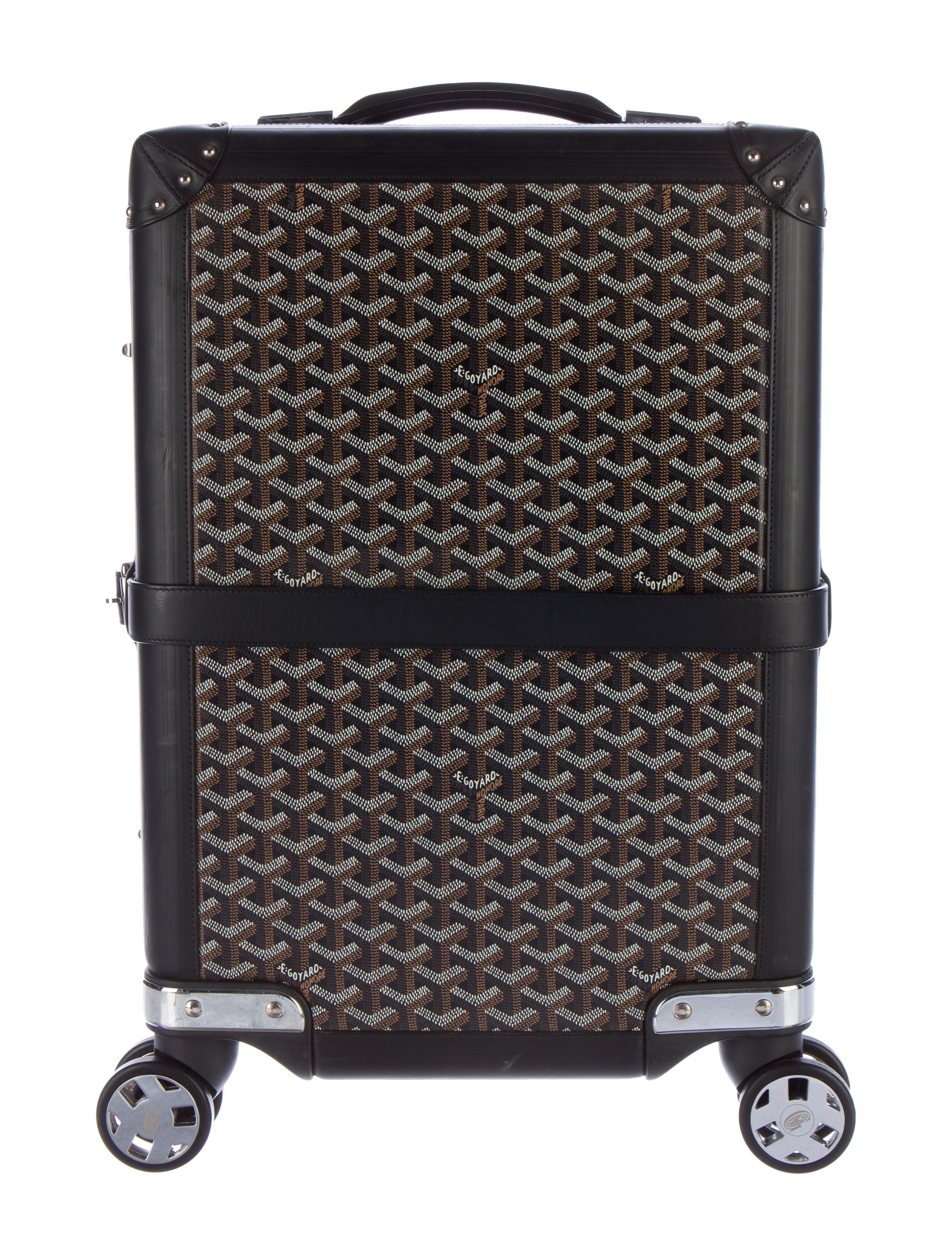 Goyard Bourget Pm Luggage Goy21250 The Realreal