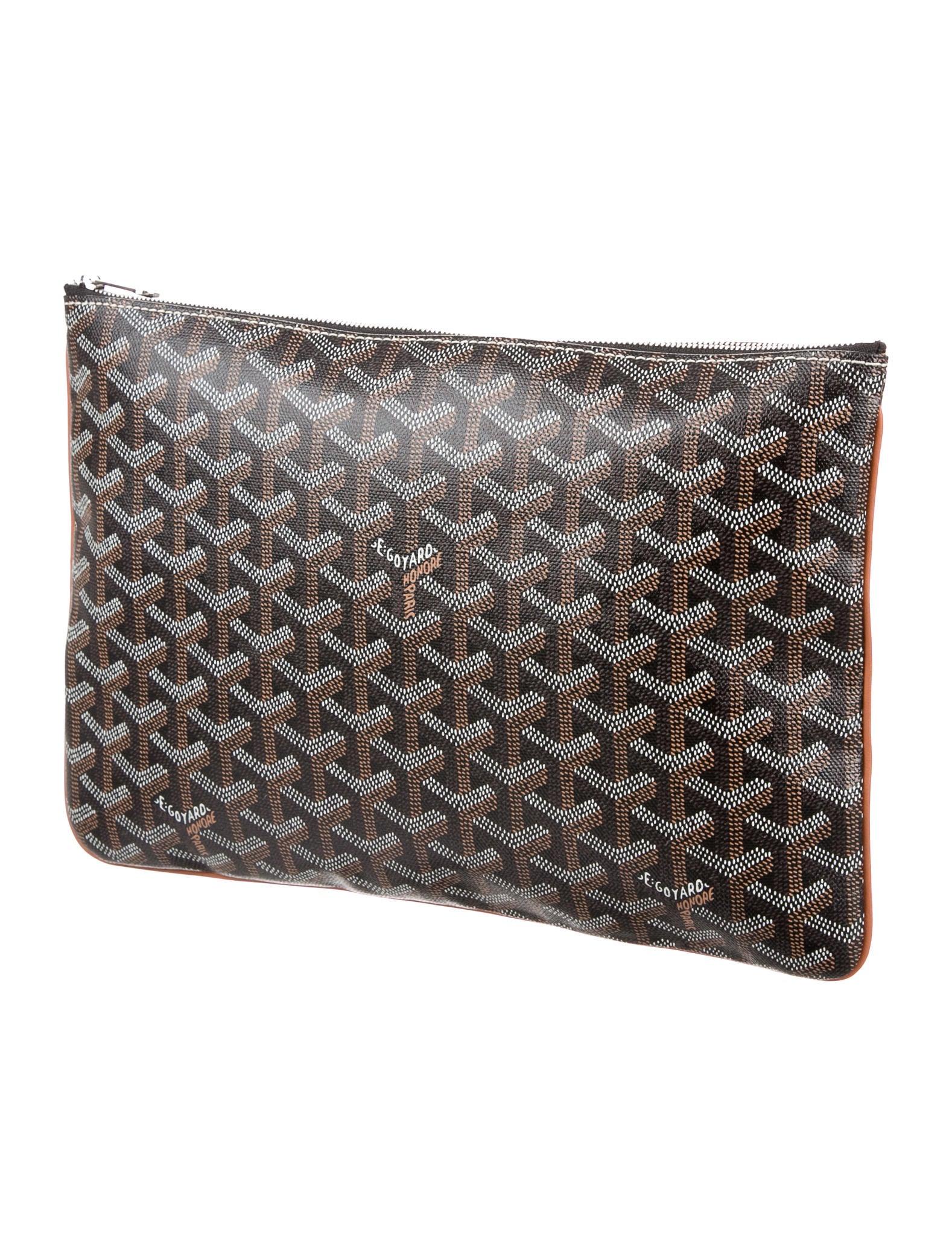 Goyard 2016 Goyardine Zip Pouch Bags Goy21502 The