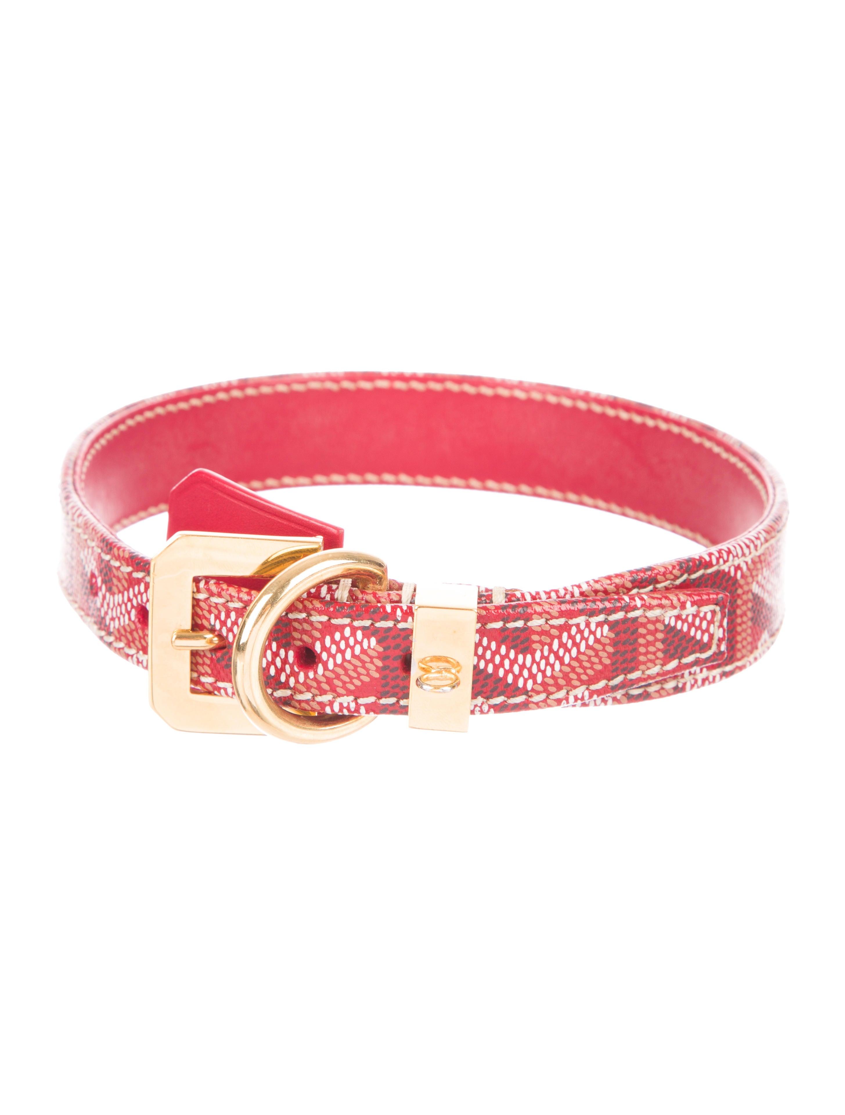 goyard dog collar