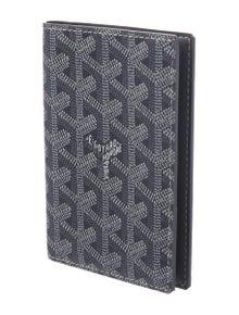 Goyard Goyardine Grenelle Passport Holder