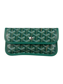 Goyard Goyardine St. Louis Pouch Leather Wallet