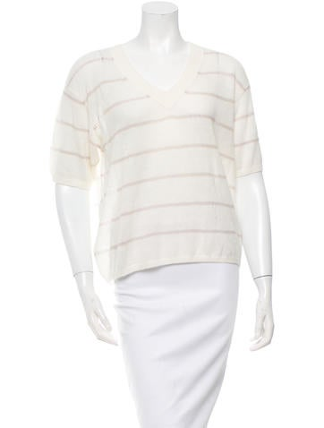 girl. by Band of Outsiders Striped Knit Sweater w/ Tags None