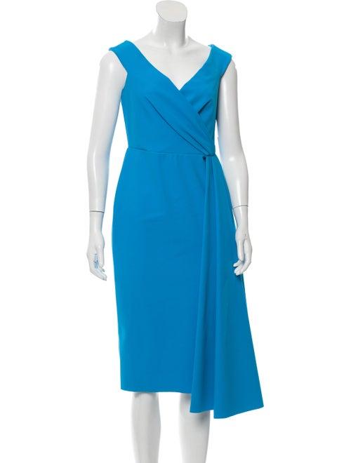 Greta Constantine Minnedosa Pleated Dress