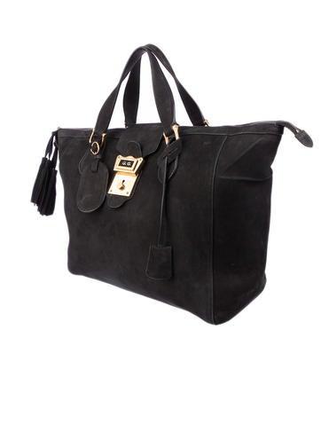 Goldmark Suede Bag