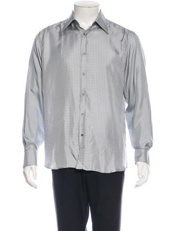 Gucci Silk Woven Shirt None
