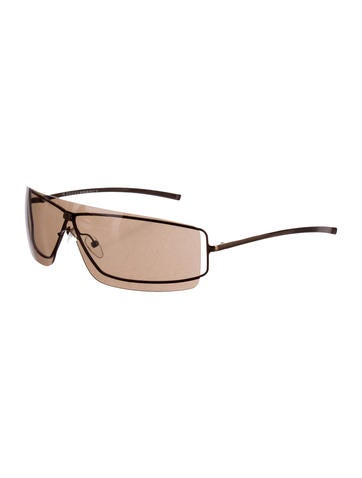 Narrow Shield Sunglasses