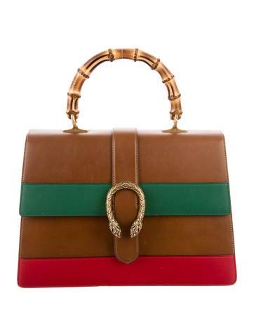Dionysus Leather Top Handle Bag
