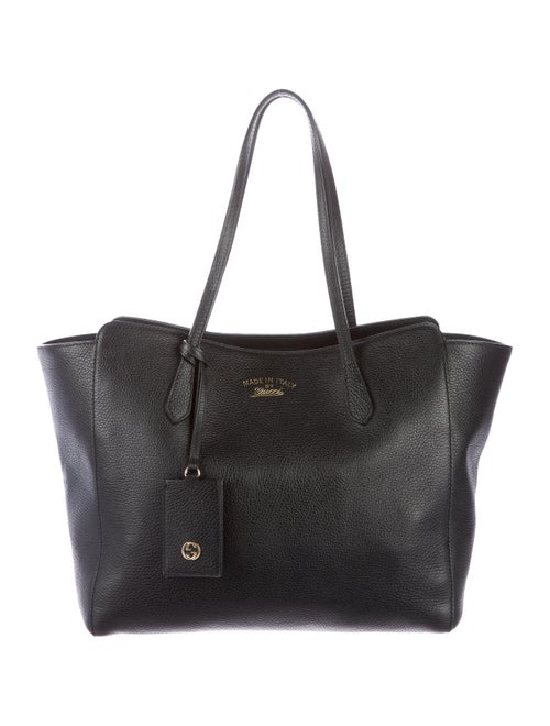 baa39a772b0f Gucci Swing Medium Leather Tote - Handbags - GUC101974 | The RealReal