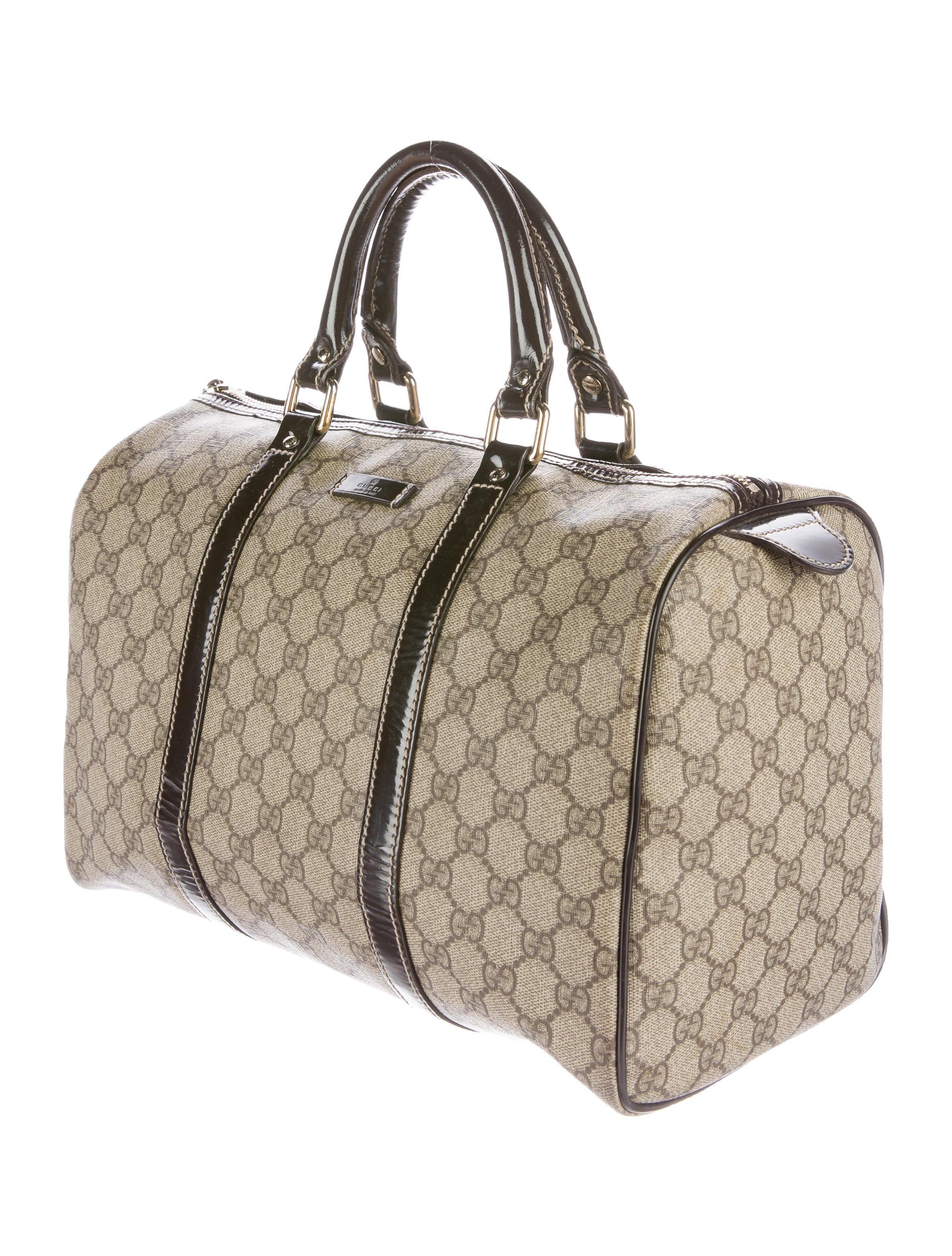 Boston Bag Patchwork Tutorial: Gucci GG Supreme Joy Boston Bag