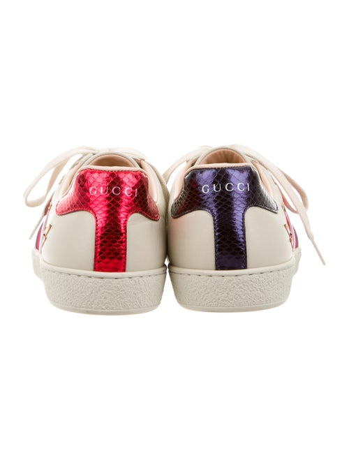c8a68e162d9 Gucci 2016 Ace Flame Low-Top Sneakers - Shoes - GUC104401
