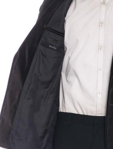Gucci Velvet Smoking Blazer Clothing Guc104701 The