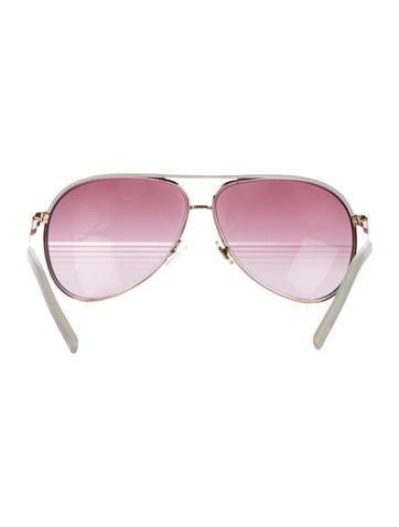 Gradient Aviator Sunglasses