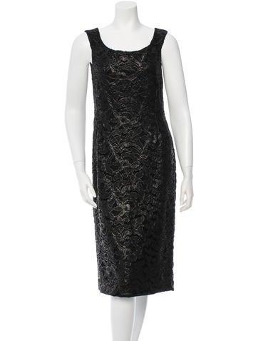 Gucci Sleeveless Lace Dress