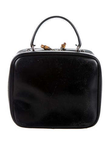Bamboo Leather Handle Bag