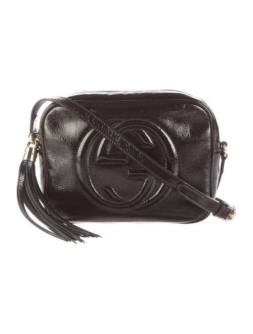 6c6bd79537d Gucci Patent Leather Soho Disco Crossbody Bag - Handbags - GUC105647 ...