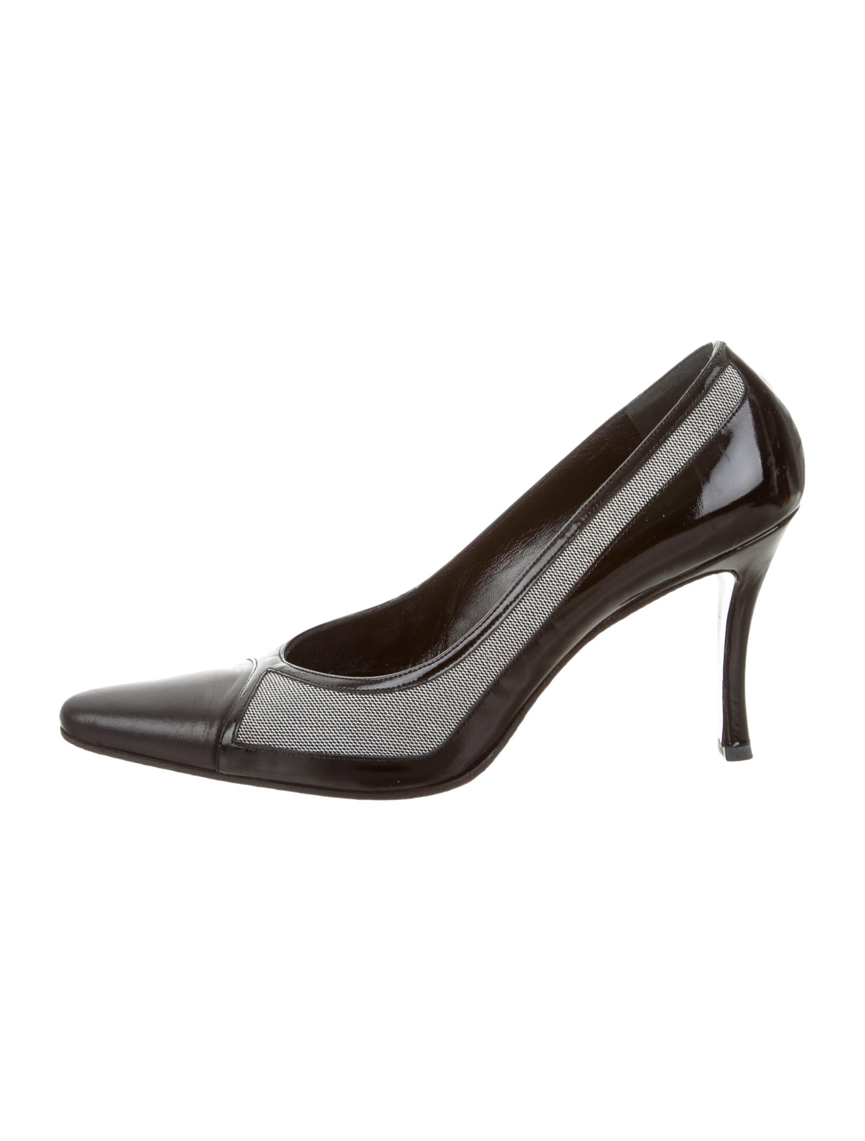 gucci leather pointed toe pumps shoes guc105797 the