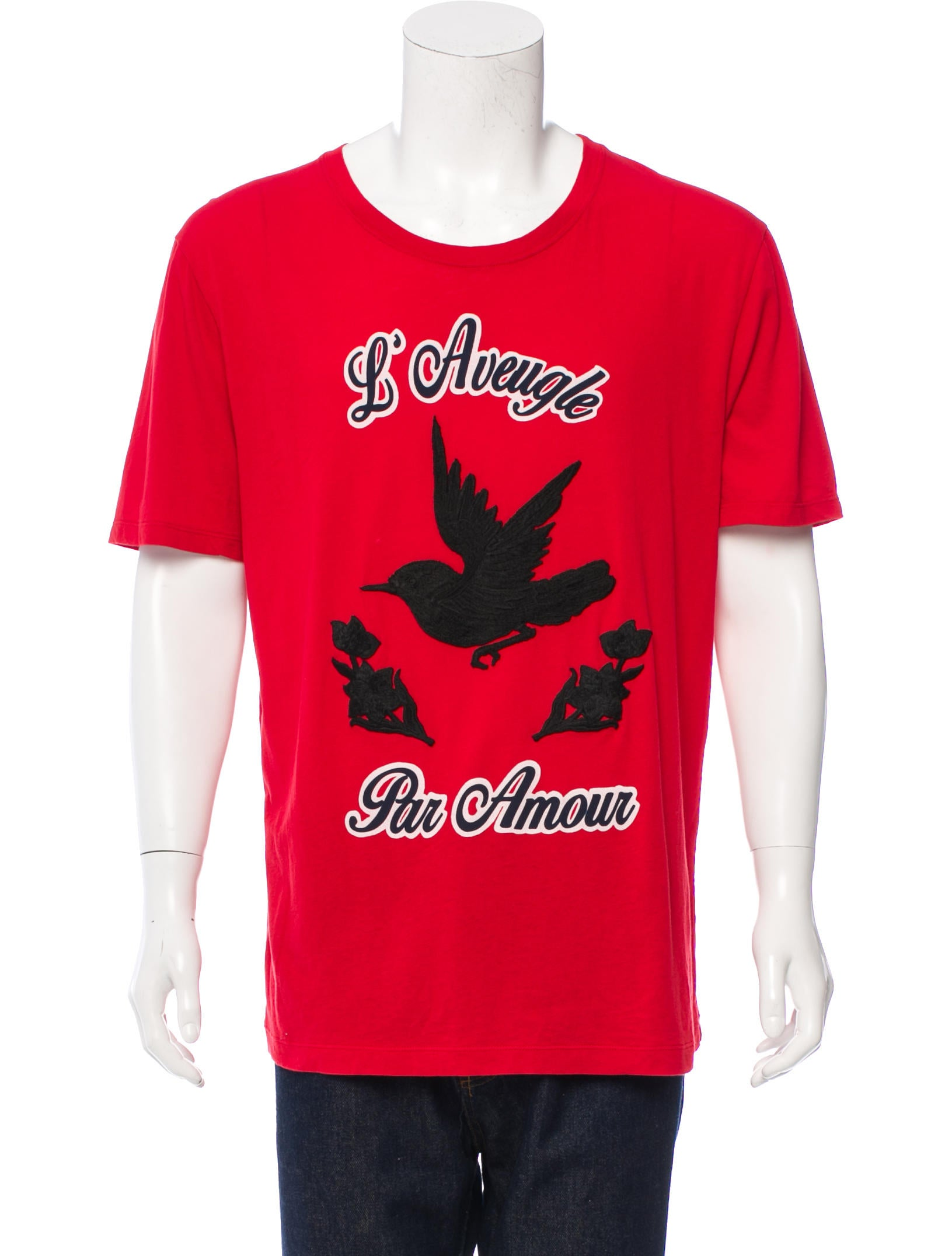3ae4fcfd Gucci 2016 L'Aveugle Par Amour T-Shirt - Clothing - GUC105945 | The ...