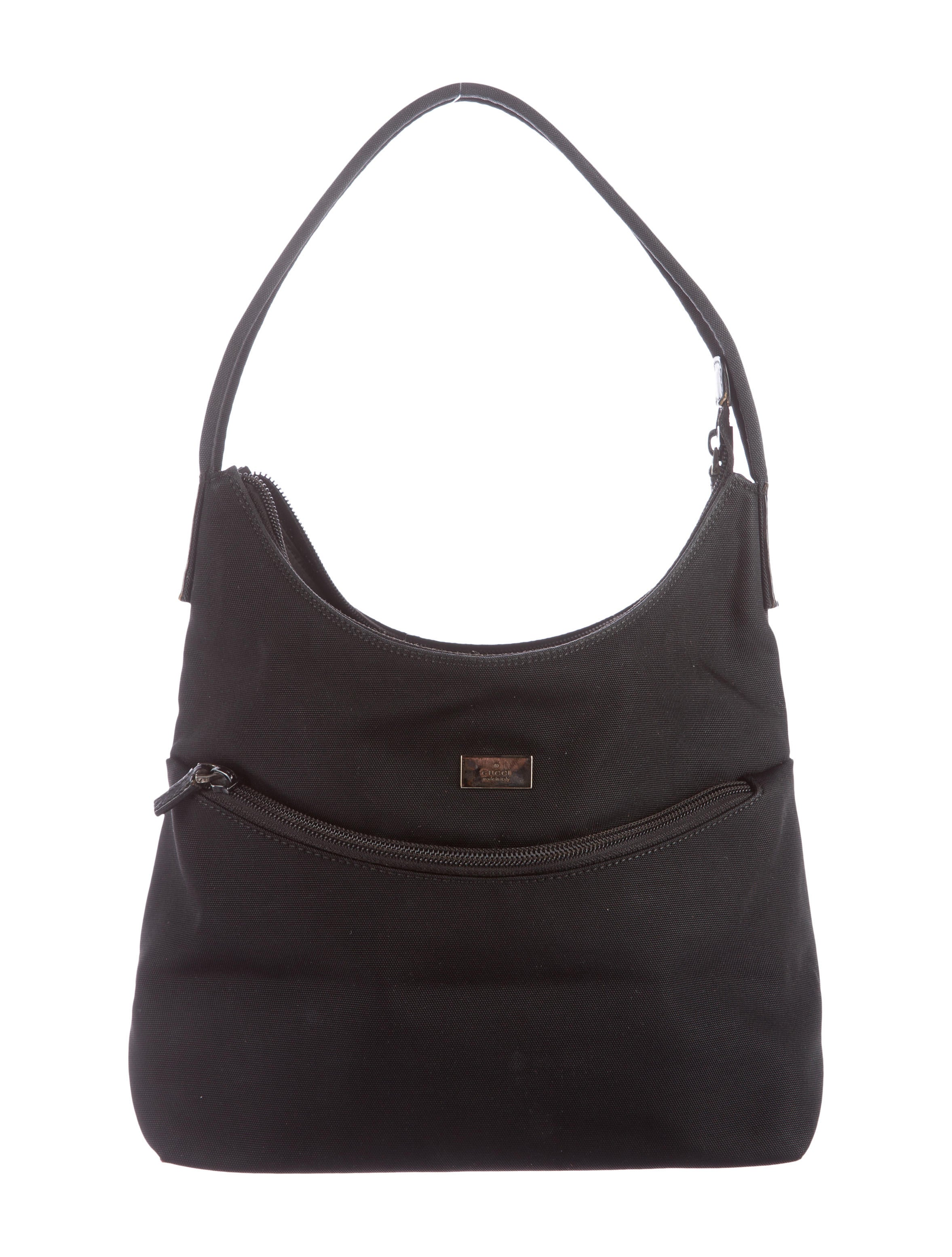 Dooney & Bourke Nylon Hobo Handbag- Juliette is rated out of 5 by Rated 1 out of 5 by Lyndyl from Worst Dooney Bag I Ever Owned Unhinged easily. Hardware tarnished/5.