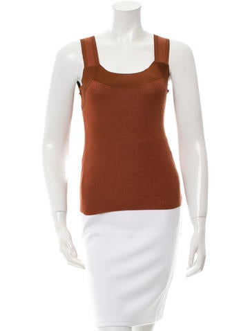 Gucci Wool Sleeveless Top None