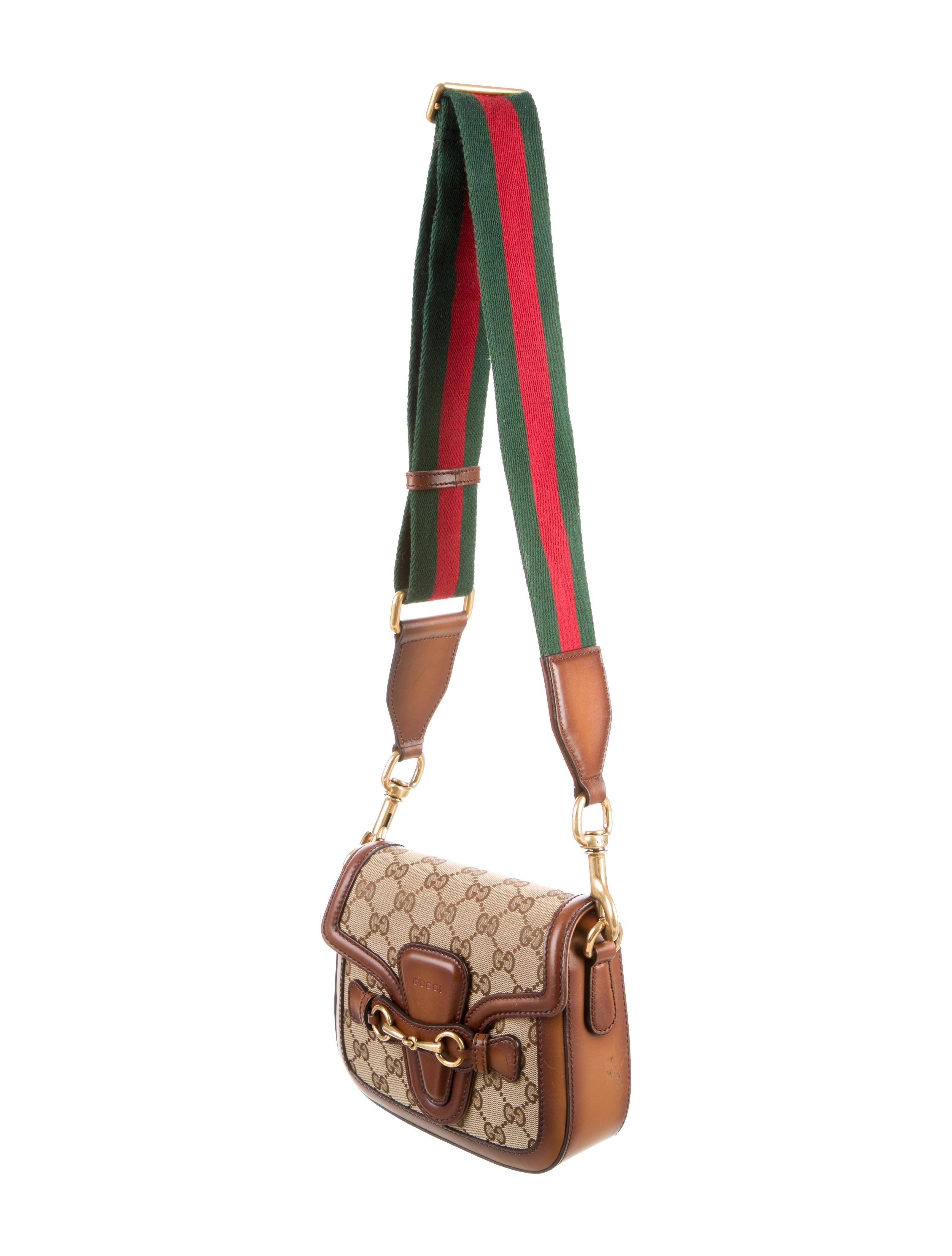 gucci small web shoulder bag