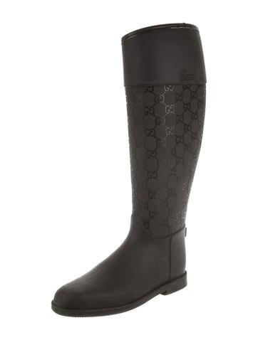 Guccissima Rain Boots