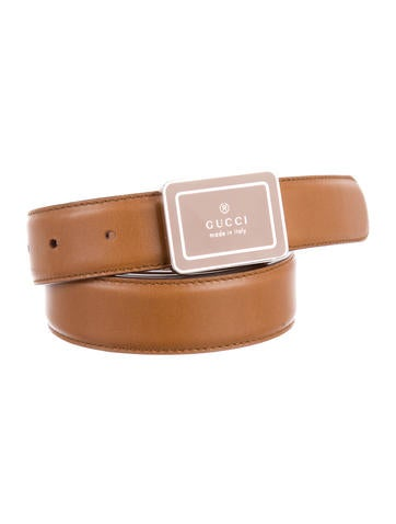 Brown Leather Belt