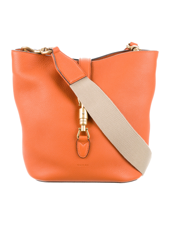 58ff77e840a Gucci Jackie Soft Bucket Bag w  Tags - Handbags - GUC109970