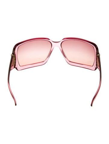 Horsebit Shield Sunglasses