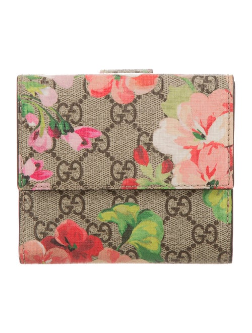 a723cc50044 Gucci GG Blooms French Flap Wallet - Accessories - GUC112817