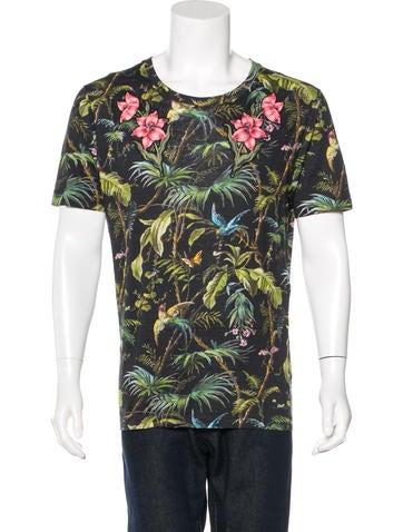 Gucci 2016 Flora Knight Linen T-Shirt None