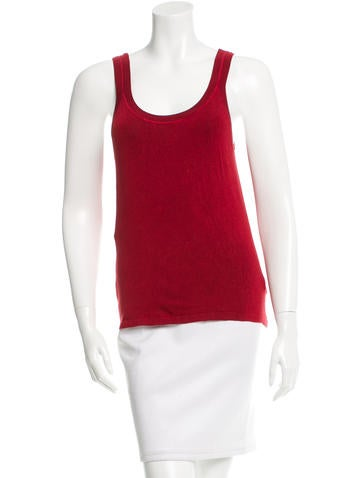 Gucci Silk Sleeveless Top None