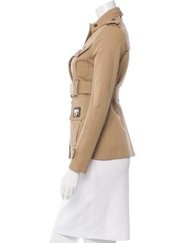 Button-Up Military Jacket