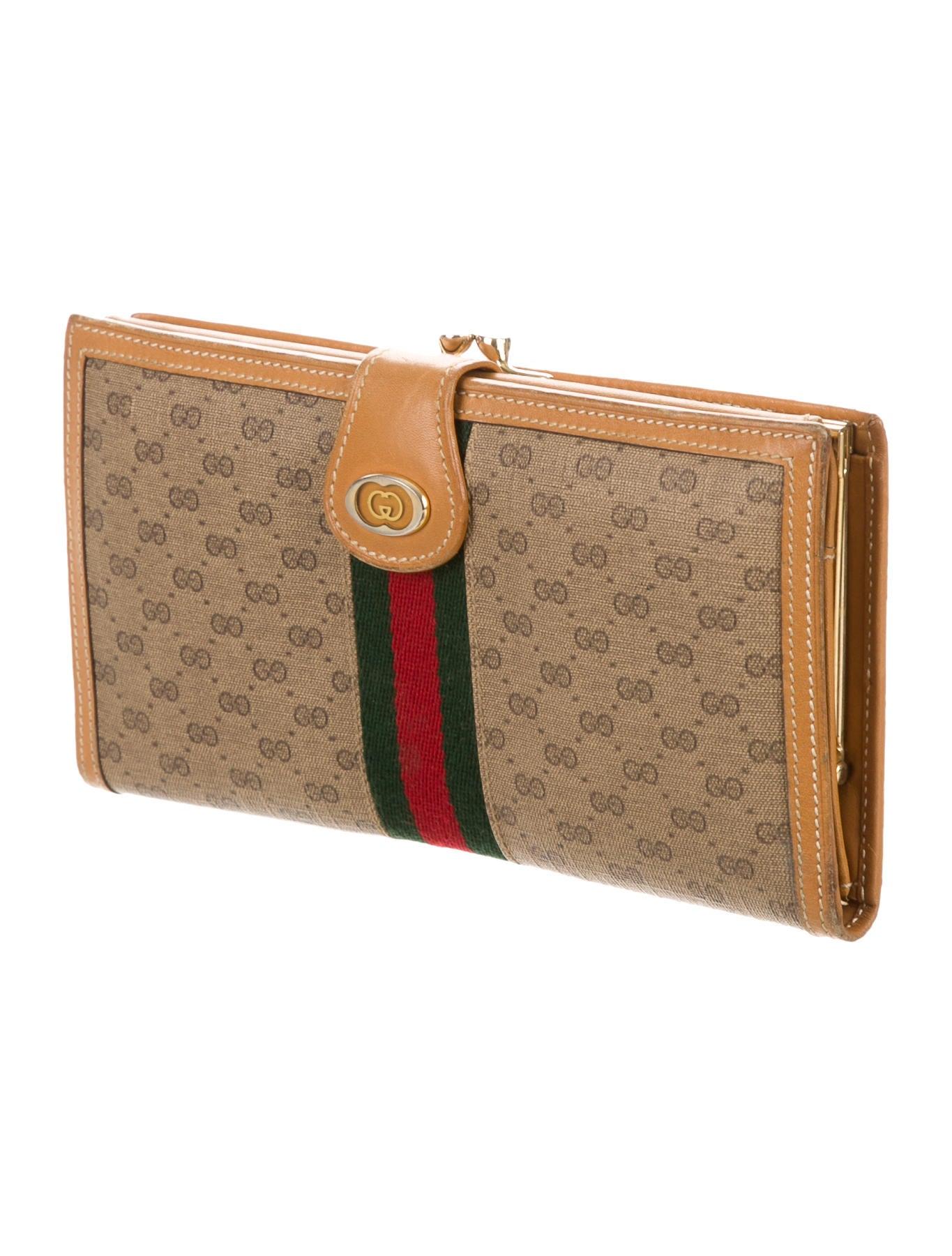 ed1369a13a0 Gucci GG Plus Web Wallet - Accessories - GUC114140