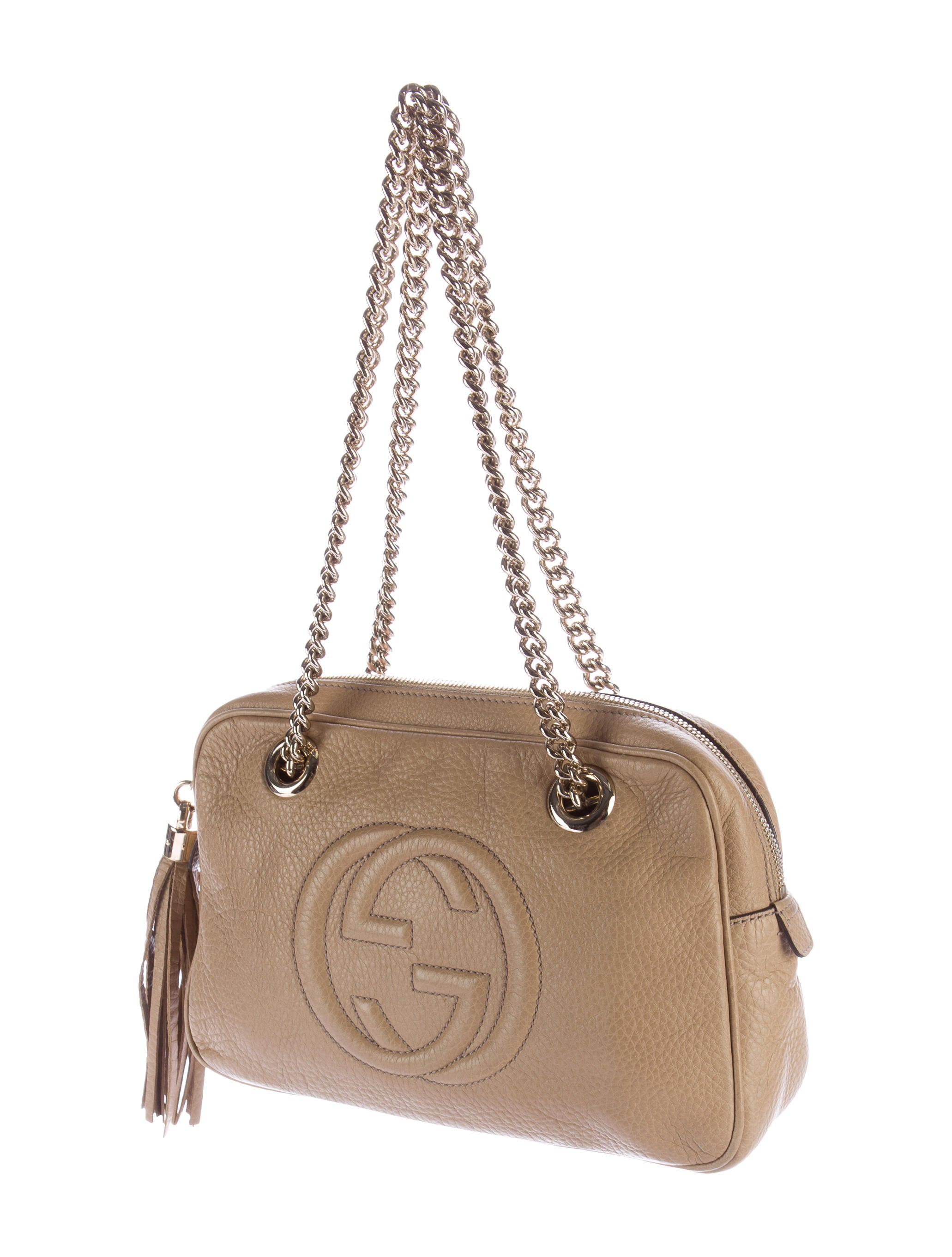 3476abc228df Gucci Soho Leather Chain Handbag | Stanford Center for Opportunity ...