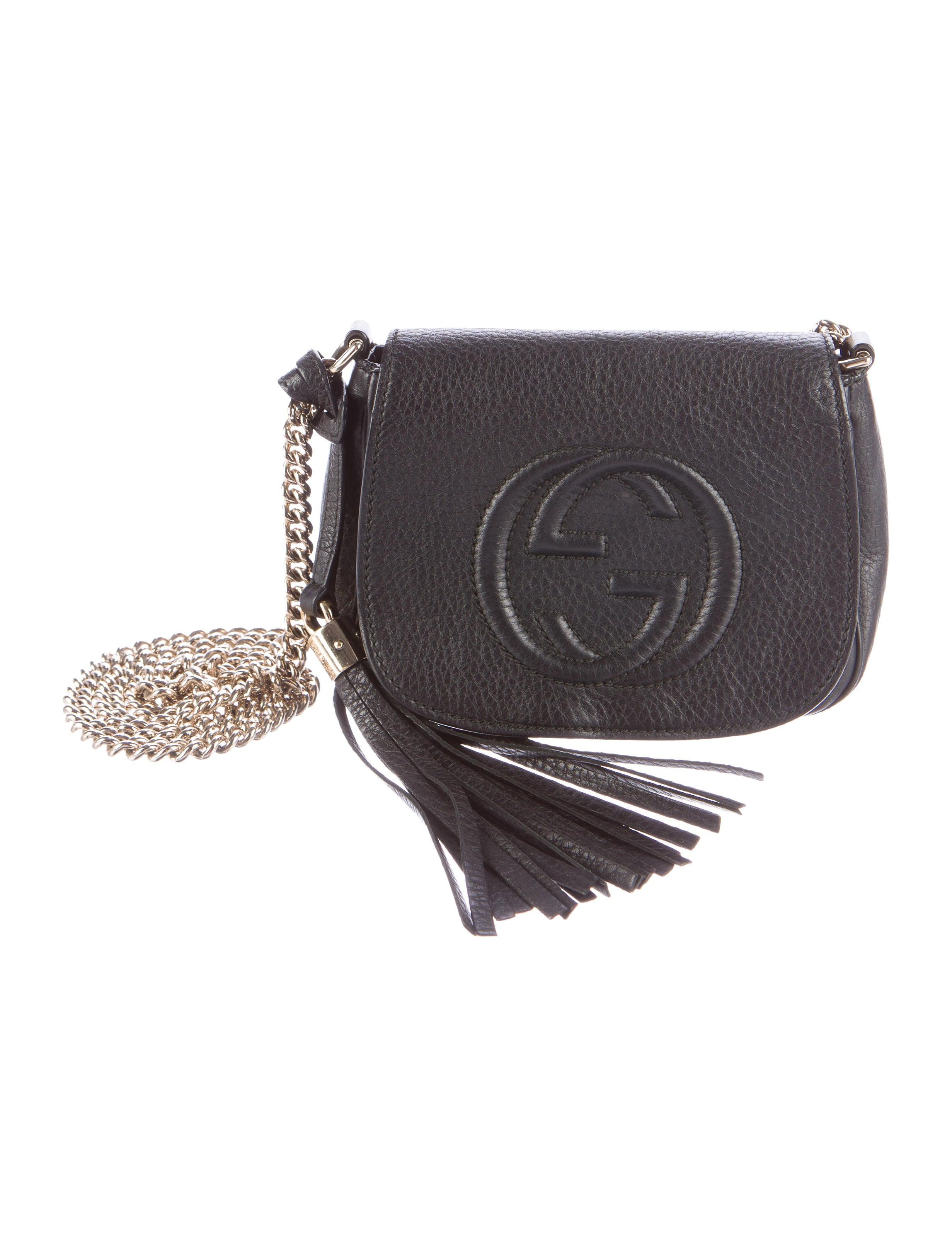 b62d2ed07846 Gucci Soho Chain Crossbody Bag - Handbags - GUC114924 | The RealReal