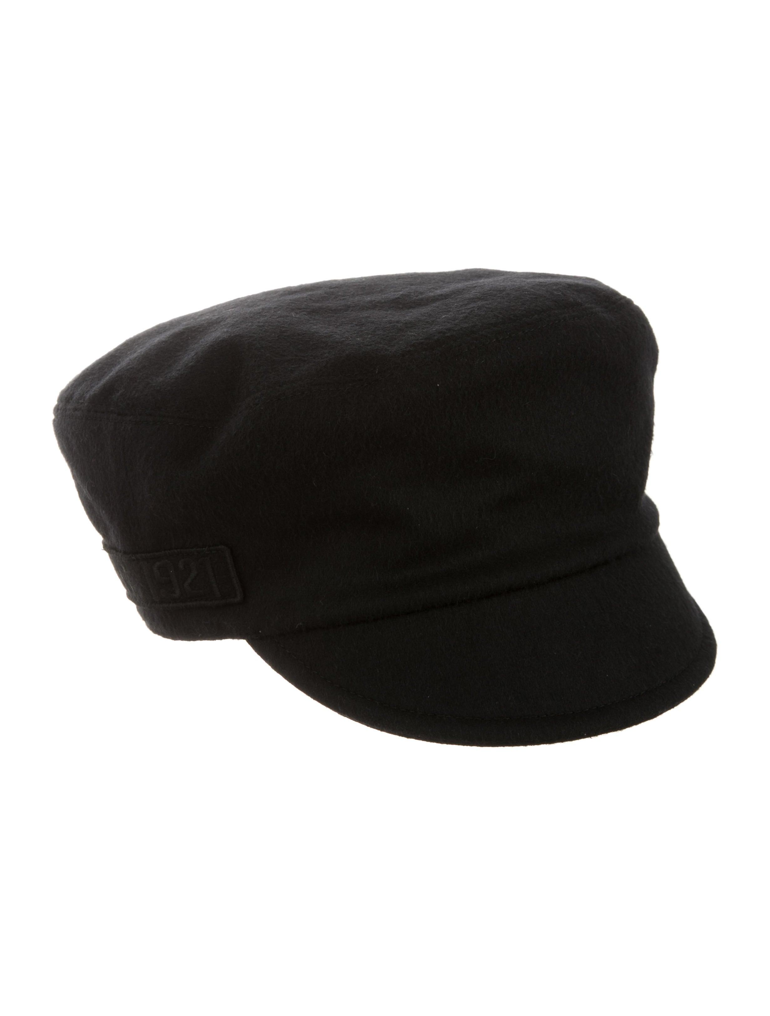 Gucci Wool Military Cap w  Tags - Accessories - GUC115601  b8d44419c