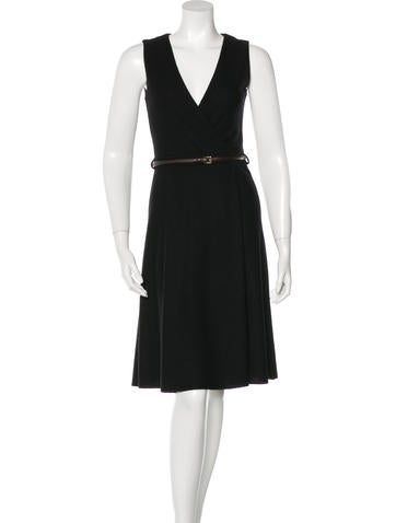 Gucci Sleeveless A-Line Dress None