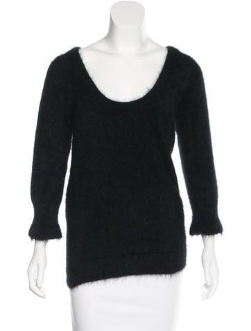 Gucci Textured Angora Sweater None