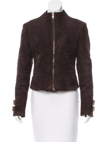 Gucci Shearling Quilted Jacket