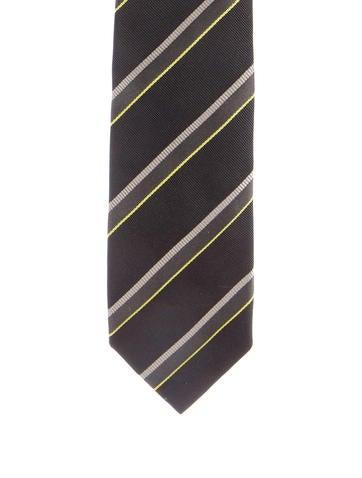 Gucci Striped Silk Tie None